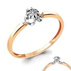 Inel de logodnă din aur ACVAMARIN art 963935k.1